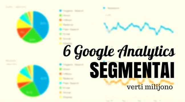 6 analytics segmentai