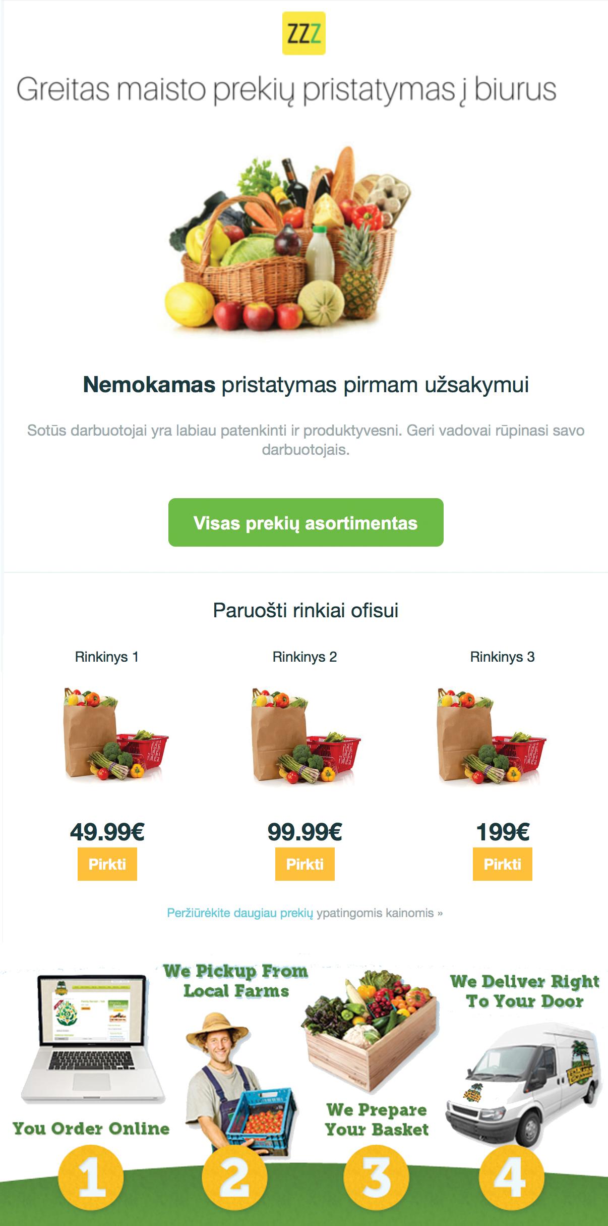 nemokamų prekybos galimybių naujienlaiškis)