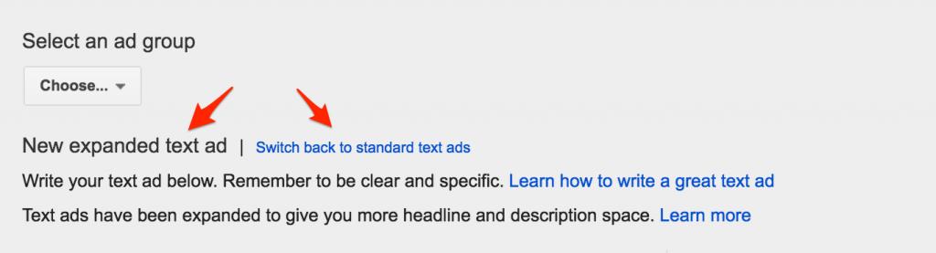Google_AdWords skelbimo perjungimas