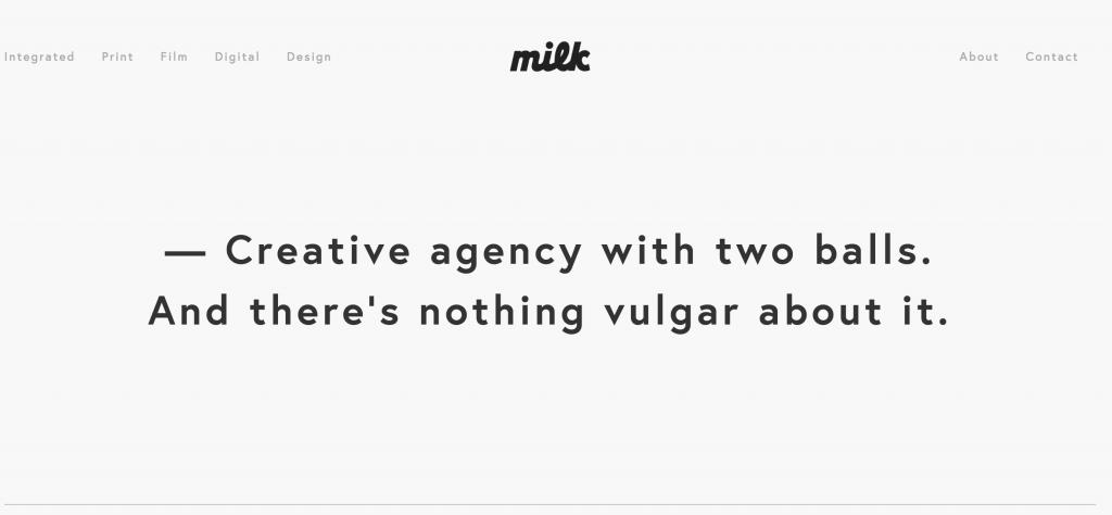 milk agenturos svetaine